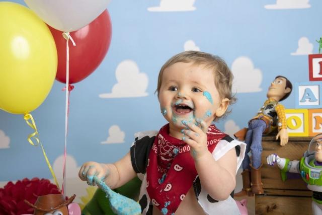 Toy Story cake smash
